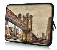 "Bridge 10"" ~ 17"" Laptop Netbook Notebook Tablet Bag Sleeve Case Pouch Soft Neoprene"