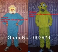 Adventure Time with Finn and Jack / Kigurumi Pajamas/ Cosplay Anime Costume onesies/Fancy Dress/Adult/Unisex/