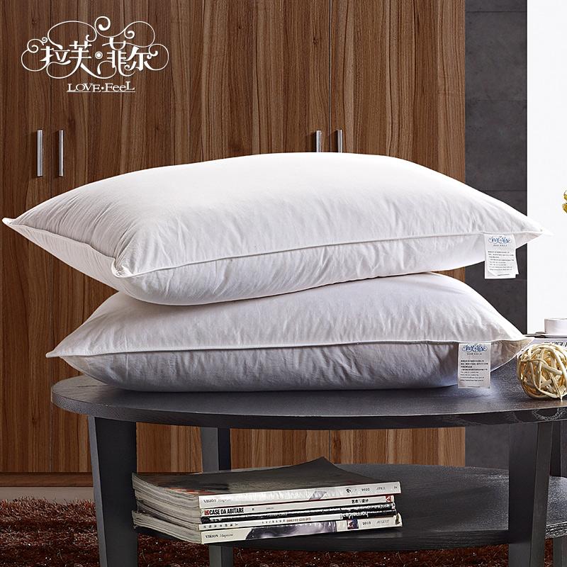 oreiller en plume d 39 oie promotion achetez des oreiller en. Black Bedroom Furniture Sets. Home Design Ideas