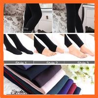 Wholesale  Bamboo Fiber Velvet Thick Winter Women Leggings,Knitted Thick Slim Leggings Super Elasticity,7 Colors,3 Styles
