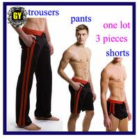 Free shipping!! 3 Pieces/Lot  Men's toursers+men's pants+men's shorts/ Hot sell men's sport pants  (N-212H)