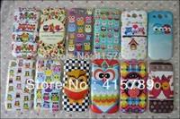 1pcs Stick paste cartoon owl bird soft TPU Gel cover case for Samsung Galaxy S3 i9300
