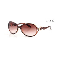 Free shipping 7715 Leopard Sunglasses border