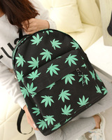 Free shipiing canvas bag backpack school bag backpack women's handbag student bag wholesale