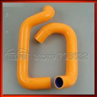 SEMA Products Customized / Original Logo Silicone Coolant Heater Hose Orange For Lotus Elise 1.8 1995-2000