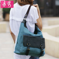 Eshow canvas hobo handbags for women canvas messenger bag satchel handbags Free shipping BFK010181