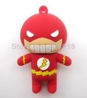 Carton Flash Man  4GB 8GB 16GB 32GB genuine  USB 2.0 Flash Memory Stick Pen Drive Thumbdrive U-disk Card  Mobile Storage Devices