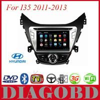 Android GPS Hyundai I35 2011 2012 2013 Car DVD Player with 3G GPS RDS radio bluetooth WIFI