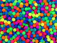 2mm Round NEON Czech Glass Beads