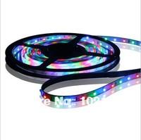 DC 12V 3528 strip flexible waterproof led lighting for aquarium IP65 light 60LED colorful
