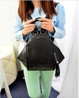 2014 new tassel travel bags multifunctional women shoulder bag handbags free shipping 1003