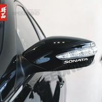 Modern sonata rearview mirror car stickers modified car stickers car sticker