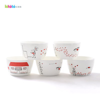 Billion ka ijarl fashion bone china ceramics 4.5 bowl tableware 5 set