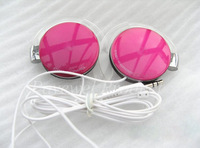 10 pcs/lot stylish ultrathin earphone headphone with transparent ear hook
