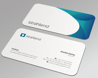 Round Corner Business Cards,350gsm smooth matt laminated art paper business cards+free shipping