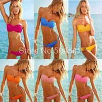 Holiday Sale 2013 fashion Brand for woman fashion bikini with PAD Hot swimwear Ladies bikini bathing suit