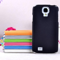 basketball leather skin cover 10PCS/1lot wholesale fashion case for samsung I9500 galaxy s4 case cover accept mix-color order