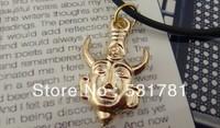 10pc/Lot. Free Shipping. Wholesale Super Cool Supenatual Dean amulet talisman Charm  Necklace Exclusive unique necklace 2013