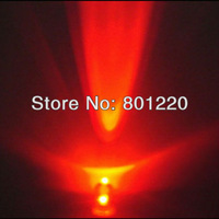 1000pcs New 5mm Round Ultra Bright Red LED Light Lamp