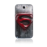 Grya superman Battery Cover Back Door For Smasung Galaxy NOTE2 N7100 NOTE II