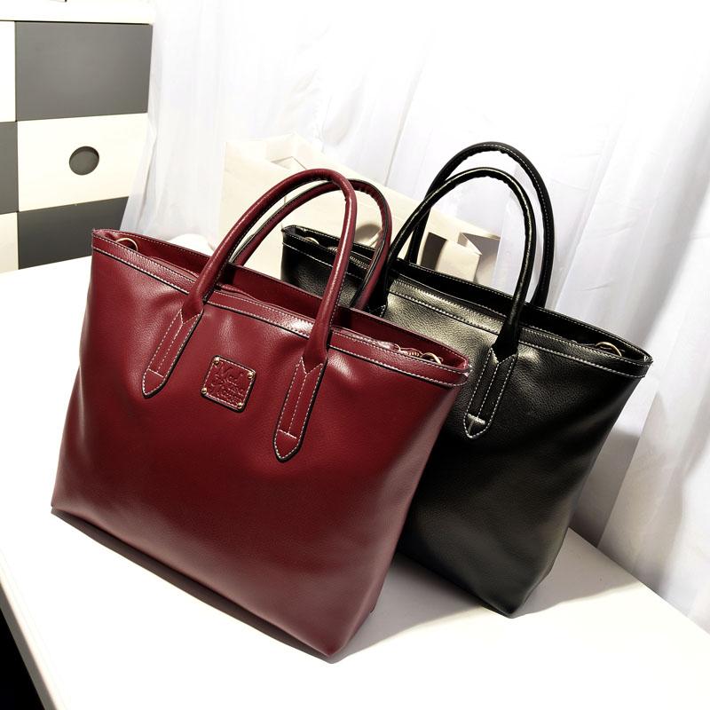 Casual formal brief mobile big bags vintage shoulder bag messenger fashion elegant female