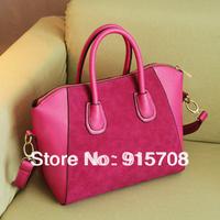 Free Shipping ! Fashion bags 2014 women's nubuck leather handbag autumn and winter handbag messenger bag