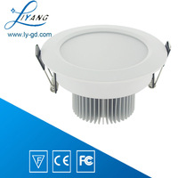 7W LED downlight 3.5 inch free shipping _AC85-265v high intensity lampara de techo fijo