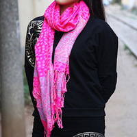 100% cotton scarf Women multicolour leopard print scarf rose small fresh autumn and winter scarf cape