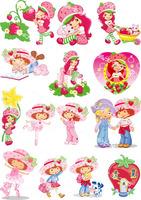 Diy heat fabric heat transfer heat transfer printing painting handmade patchwork - 3 strawberry girl