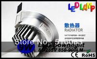 LED Downlights LAMP 9W  AC85-265V 850-900LM ,include the drive, warm/cold  white led bulb light 20pcs free ship CE ROHS