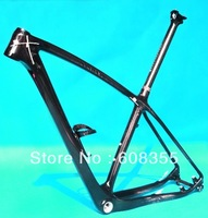 "Fr216  - UD Carbon 29ER MTB Mountain Bike Frame ( BSA )  + Seatpost + Water Bottle Cage   17"", 19"""