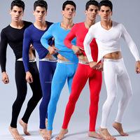 free shipping Consmile underwear intouch modal V-neck male slim long johns long johns set