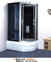 Shower cabin steam shower room glass bathroom sauna bathroom 8809