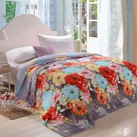 Flannel blanket winter thermal sheets pad laguan air conditioning blanket blankets FL carpet coral fleece blanket