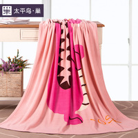 Peacebird thickening blanket home textile coral fleece blanket winter blanket bed sheets lounged blanket