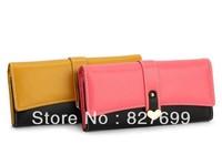 Free shipping!Fashion wallet heart clutch purse New long desing bag FREE SHIPPING