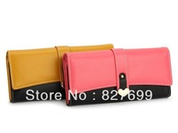 Free shipping!Fashion wallet heart clutch purse New long desing bag FREE SHIPPING