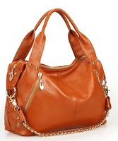 Fashion Style  Ladies' Tassel handbag 100%Genuine Leather Tote/Shouler bags/Messenger bag NN0391