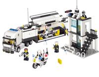 Kazi Police Truck Building Block Sets 511pcs Educational DIY Bricks Toys Free Shipping Without Original Box