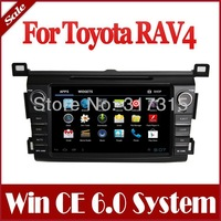 Android 4.0 Car DVD Player for Toyota RAV4 2013 with GPS Navigation Stereo Bluetooth TV USB AUX Map Radio Audio Video 3G WIFI