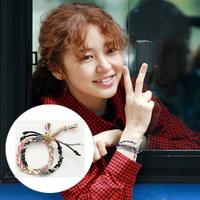 new 2014 Cotton & Alloy pulseras cross bracelets & bangles bijoux in korean drama TV serials popular series Korea soap opera