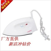free shipping Household 3 automatic dry type electric iron electric steam iron handheld mini backplane