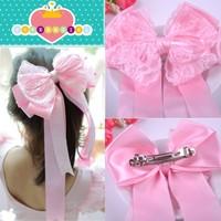 Children's hair accessories children big bow ribbon free shipping
