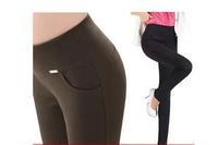 autumn high waist pants plus size legging trousers skinny pants pencil pants female