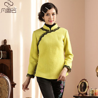 Tang suit women's winter national style trend chinese hanfu outerwear 2013 women's chinese style cheongsam top
