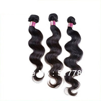 "Human Hair weave,Brazilian Hair Extension,Mix Lengths 12""14""16""18""20""22""24""28"" Body Wave Queen Hair Weft DHL Free Shipping"