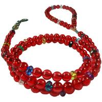 Pet leash bead traction belt beaded acrylic traction belt dog rope