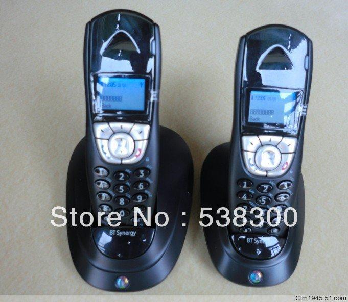 Cordless Dual Phone Bt4100 Dect Cordless Phone