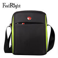 Brand sales Feelright oxford fabric bag men business casual messenger bag man bag nylon the trend of fashion sports bag