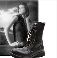 2013 Popular Genuine Leather Boots for Women, High Quality Winter Ladies Boots Martin Boots